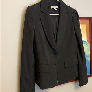 Pinstripe women's blazer black & white NY&C Sz 8